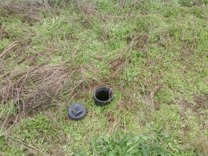 Septic Pressurized Drainfield Monitoring Port
