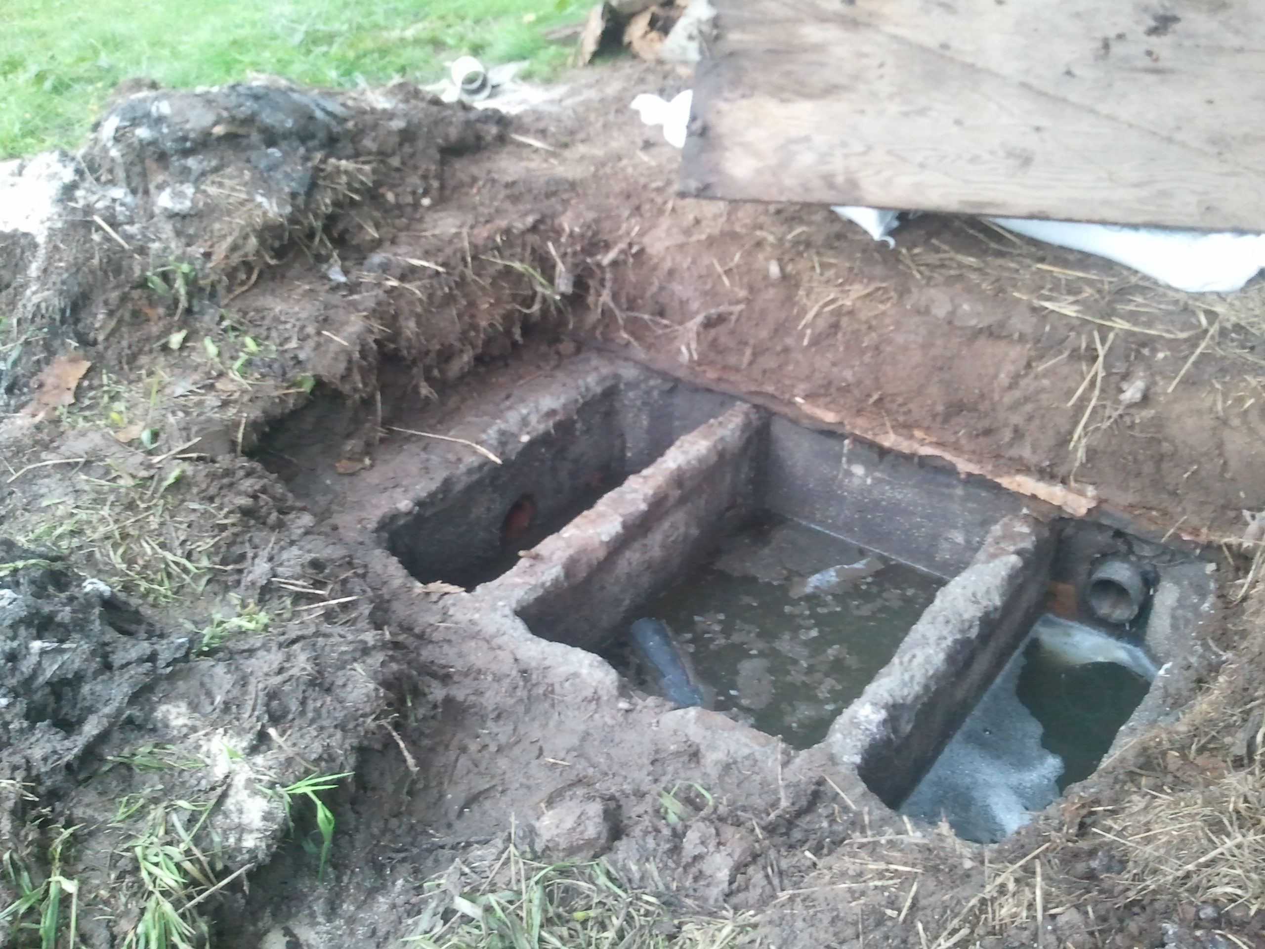 Spooky stories from a restless realtor part 2 scary for How to build a septic tank