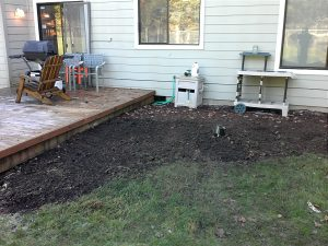 Septic riser after installation